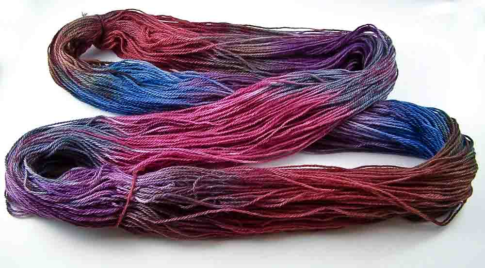 Intrepid Tulips - Variegated Yarn - Open Skein