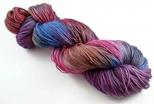 Intrepid Tulips - Variegated Yarn