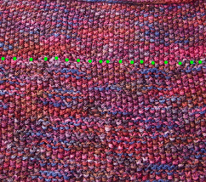 Knitting Stitch Variations : Knitting Stitches to Show Off Variegated Yarn - Intrepid Tulips Yarn