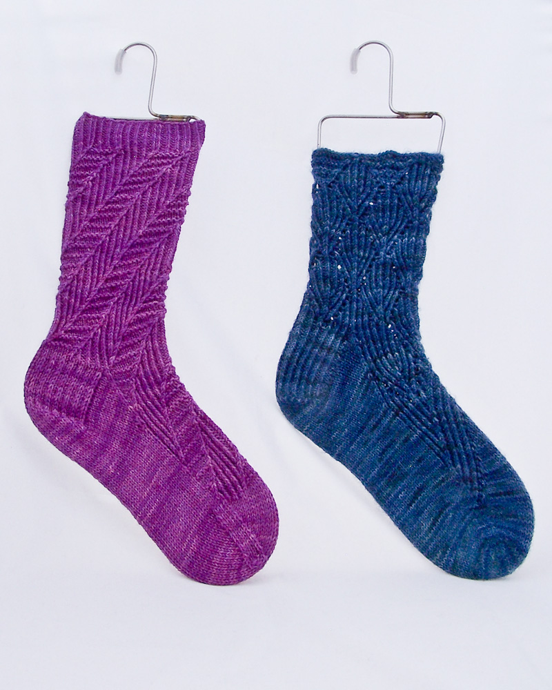 Two Cartmel Socks